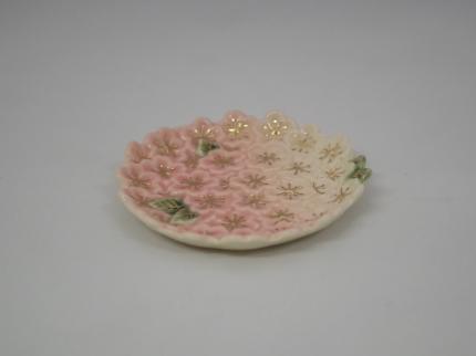 金彩桜 小皿